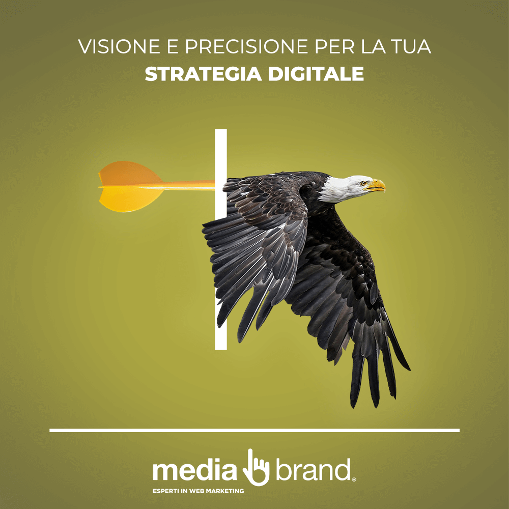 strategia digitale vincente ed efficace come aquila