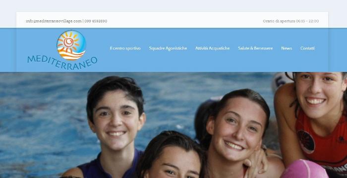 Mediabrand per mediterraneo village siti per strutture sportive - Piscina mediterraneo taranto ...