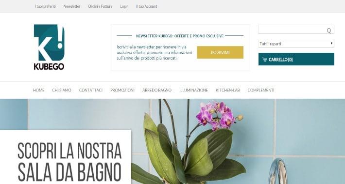 Kubego l 39 e commerce di arredamento e design mediabrand for E commerce arredamento